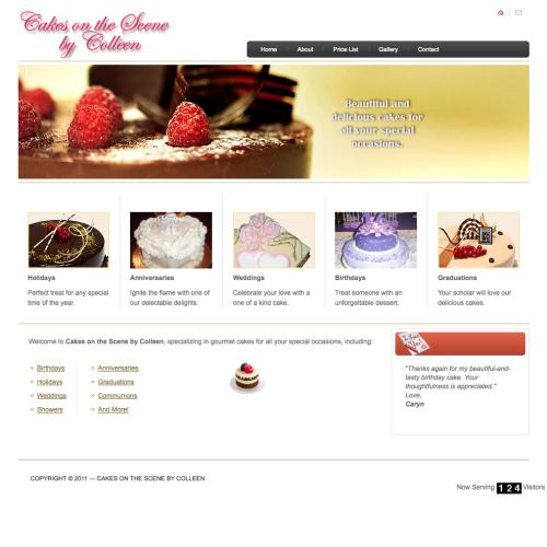cakes screen